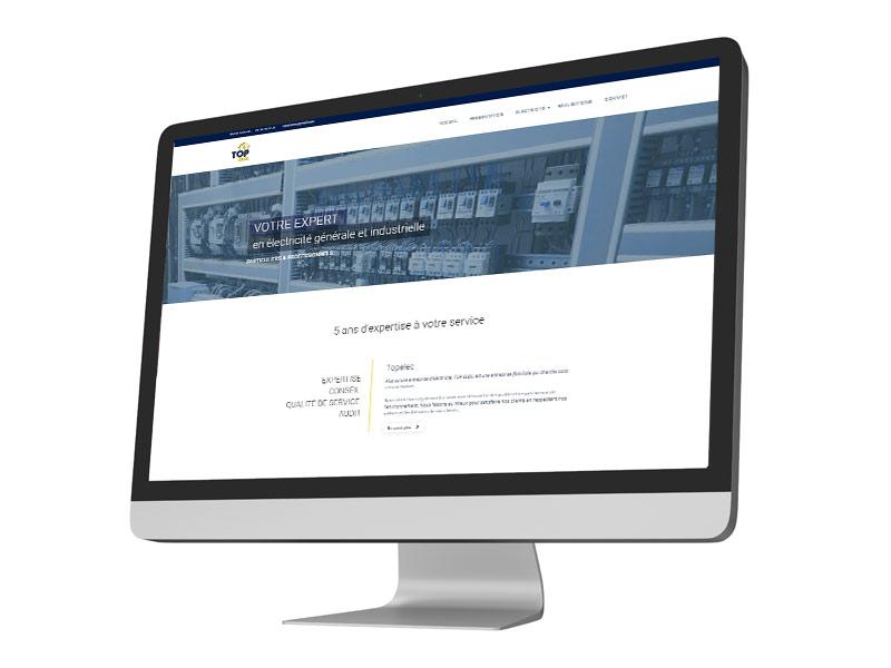 Site Internet Topelec