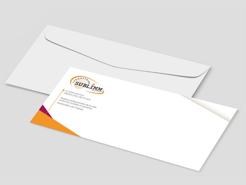 Carte de correspondance Laboratoire Sublimm