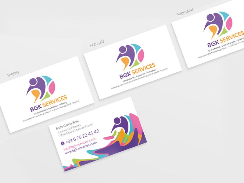 Cartes De Visite BGK Services