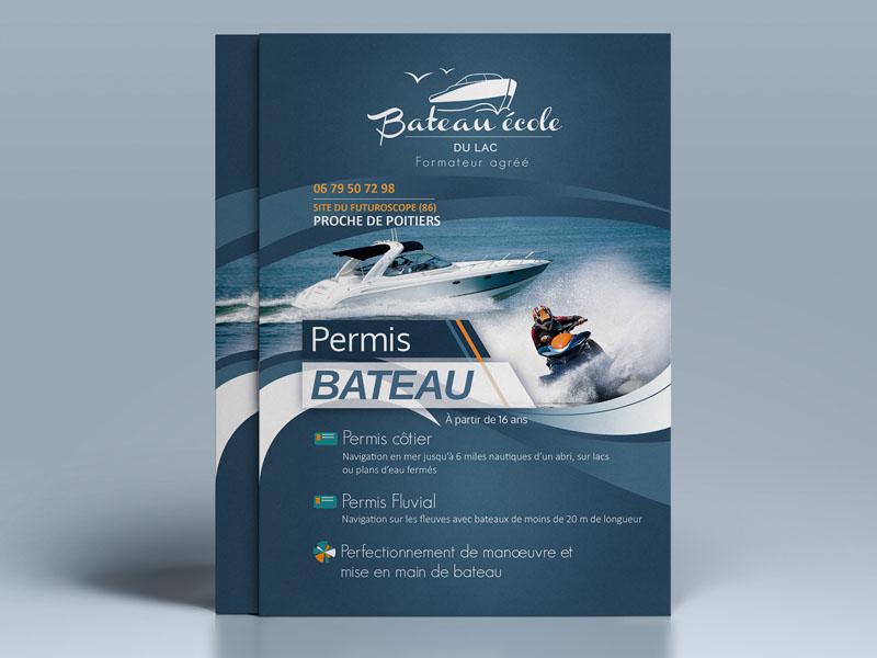 Flyer Bateau Ecole Du Lac