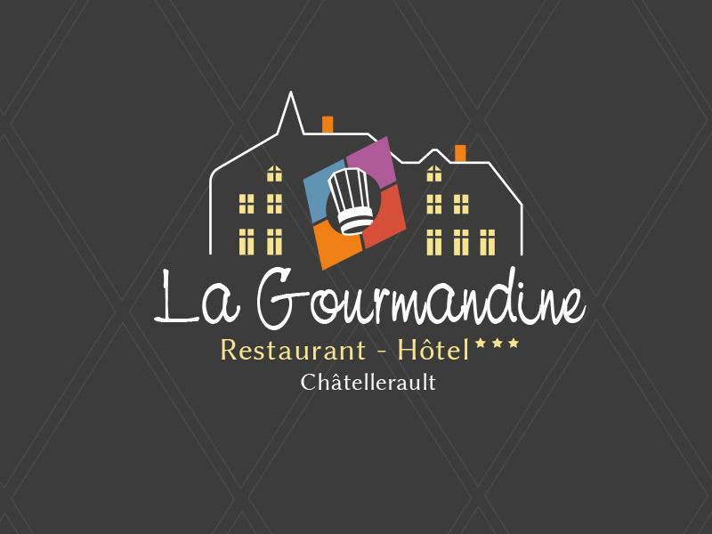 Logo la gourmandine