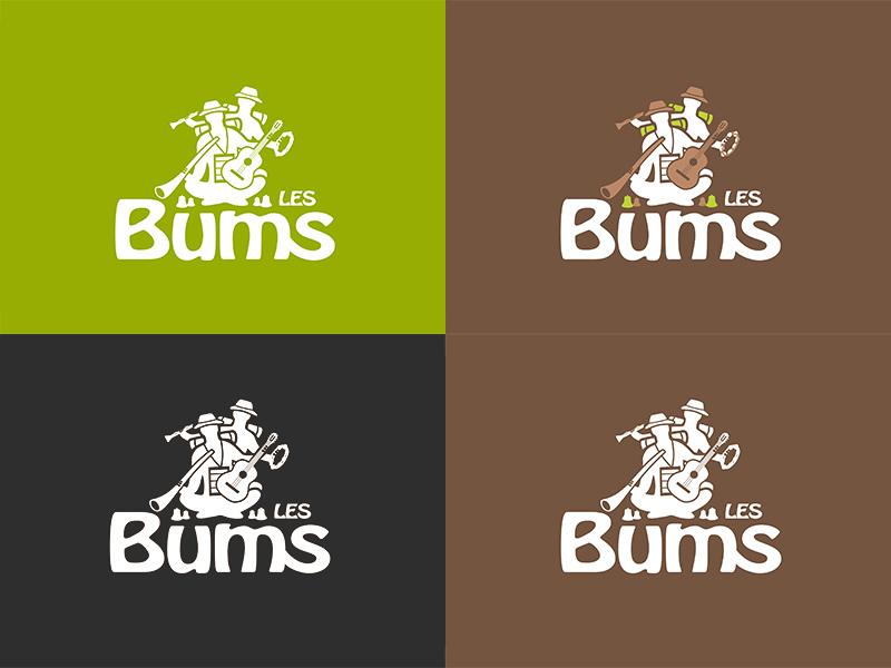 Planche couleur logo Les Bums