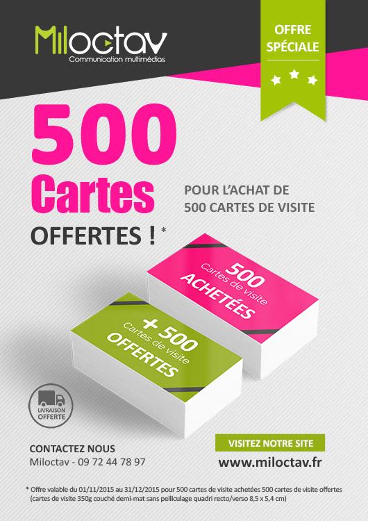 Promotion 2015 Cartes De Visite
