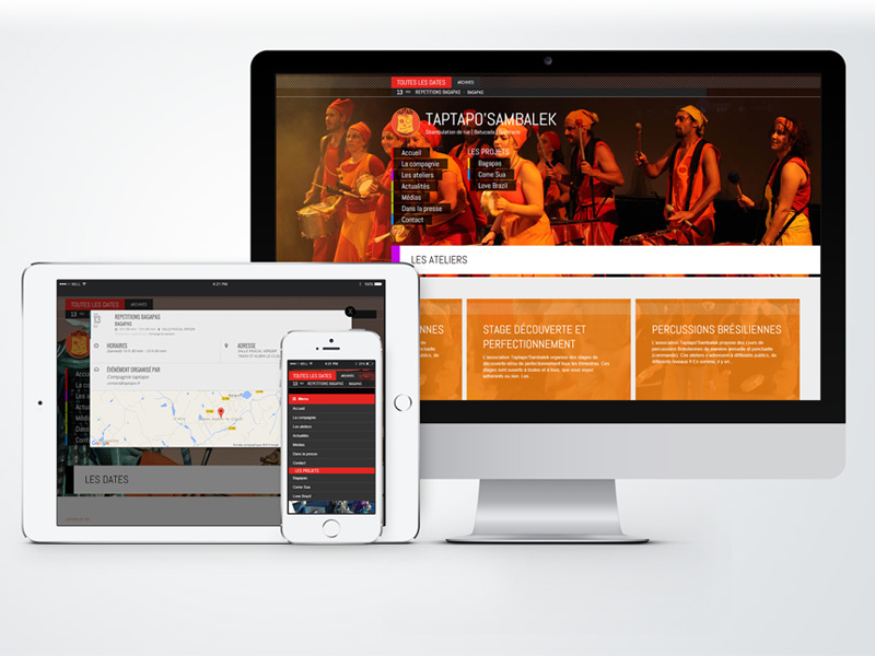 Site Internet Taptapo