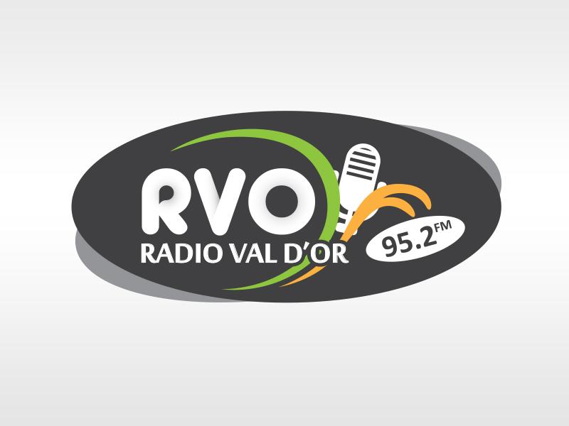 Logo radio val d'or